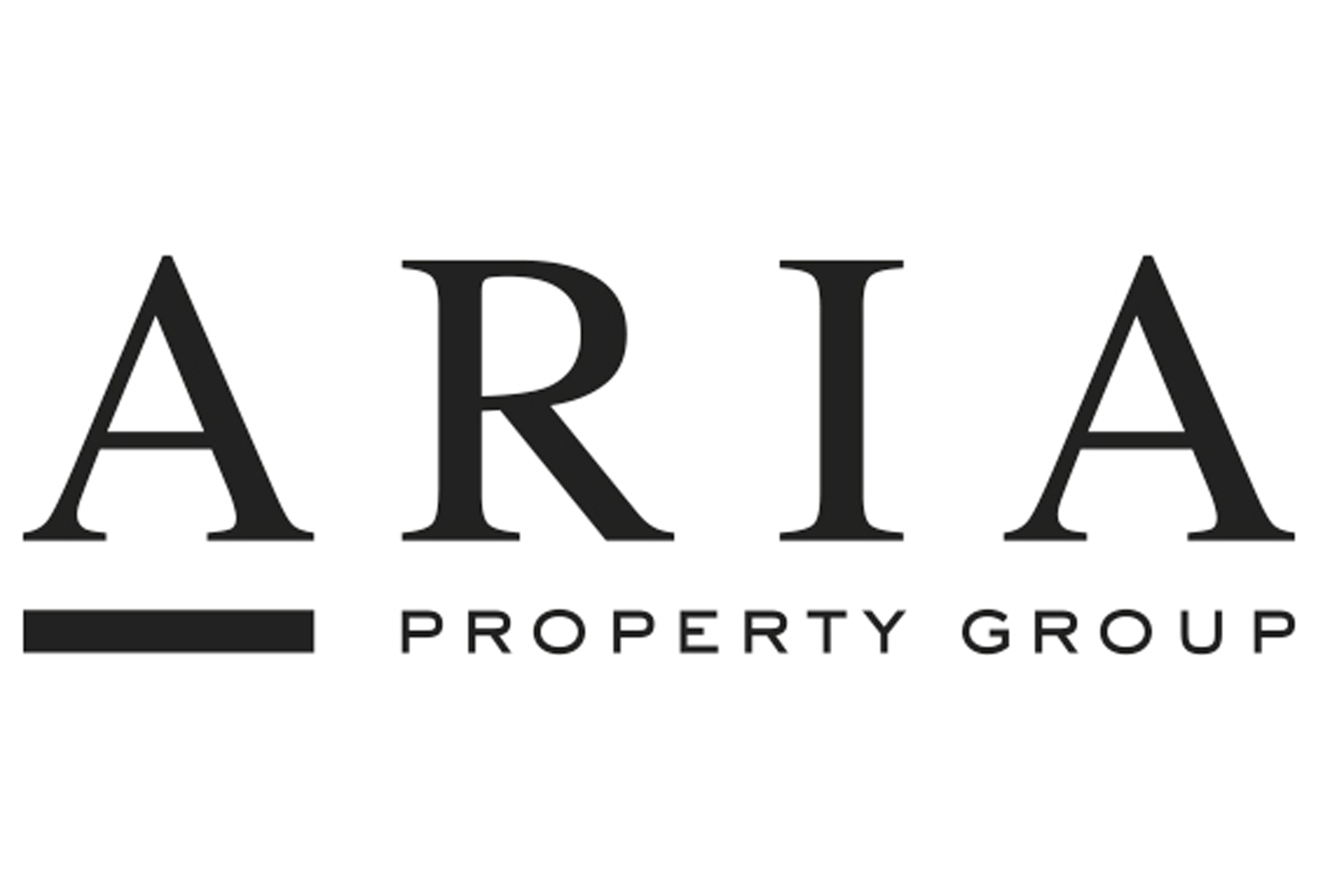 Aria centred logo